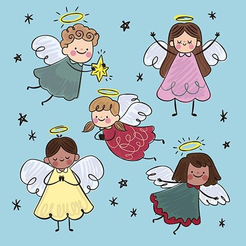 نامه نوشتن به فرشتگان در قانون جذب