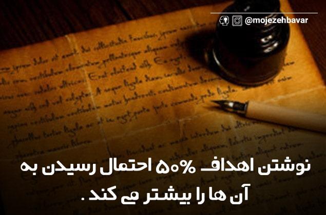 آموزش قانون جذب | نوشتن اهداف